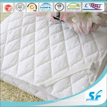 Microfiber Polyester Mattress Pad Hotel Thin Mattress Topper